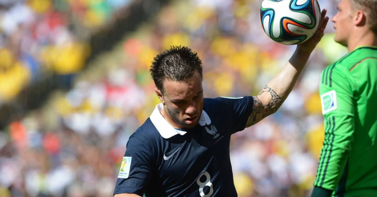 Mathieu valbuena lors du quart de finale de la coupe du - Quart de finale coupe du monde 2015 ...