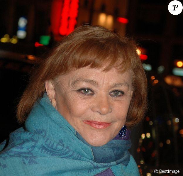 Danièle Delorme à Paris en 2004.
