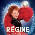 Régine, la Grande Zoa en tournée à partir du 15 novembre 2015.