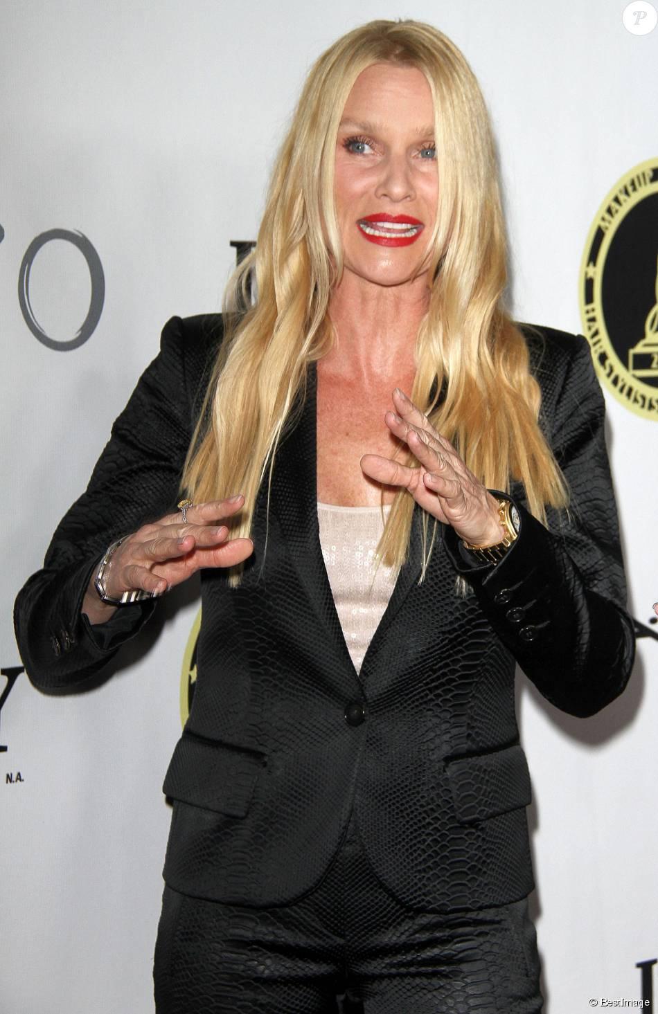 """Nicollette Sheridan assiste à la soirée """"Makeup Artists and Hair Stylists Guild Awards"""" à Hollywood, le 15 février 2014"""