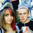 Paris Jackson a rajouté une photo d'elle et son petit-ami Chester Castellaw sur son compte Instagram.