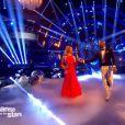 Djibril Cissé et Silvia Notargiacomo -  Danse avec les stars 6 , prime du 24 octobre 2015 sur TF1.
