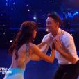 La Miss Sophie Vouzelaud et Maxime Dereymez -  Danse avec les stars 6 , prime du 24 octobre 2015 sur TF1.