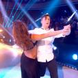 Le chanteur Loïc Nottet et Denitsa Ikonomova -  Danse avec les stars 6 , prime du 24 octobre 2015 sur TF1.