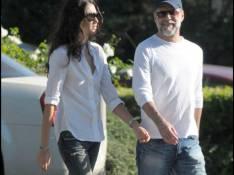 REPORTAGE PHOTOS : Bruce Willis, très barbu, cette fois c'est... le grand amour !