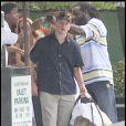 Matt Damon, sortie en famille au restaurant