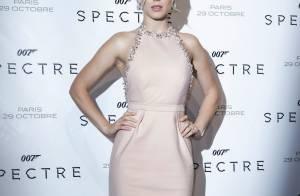 Léa Seydoux, beauté lumineuse à Paris pour Spectre face à Monica Bellucci