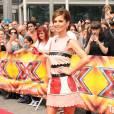 """Cheryl Fernedez-Versini (Cheryl Cole ) arrive aux auditions de l'émission """"X-Factor"""" au Wembley Arena à Londres, le 16 juillet 2015."""