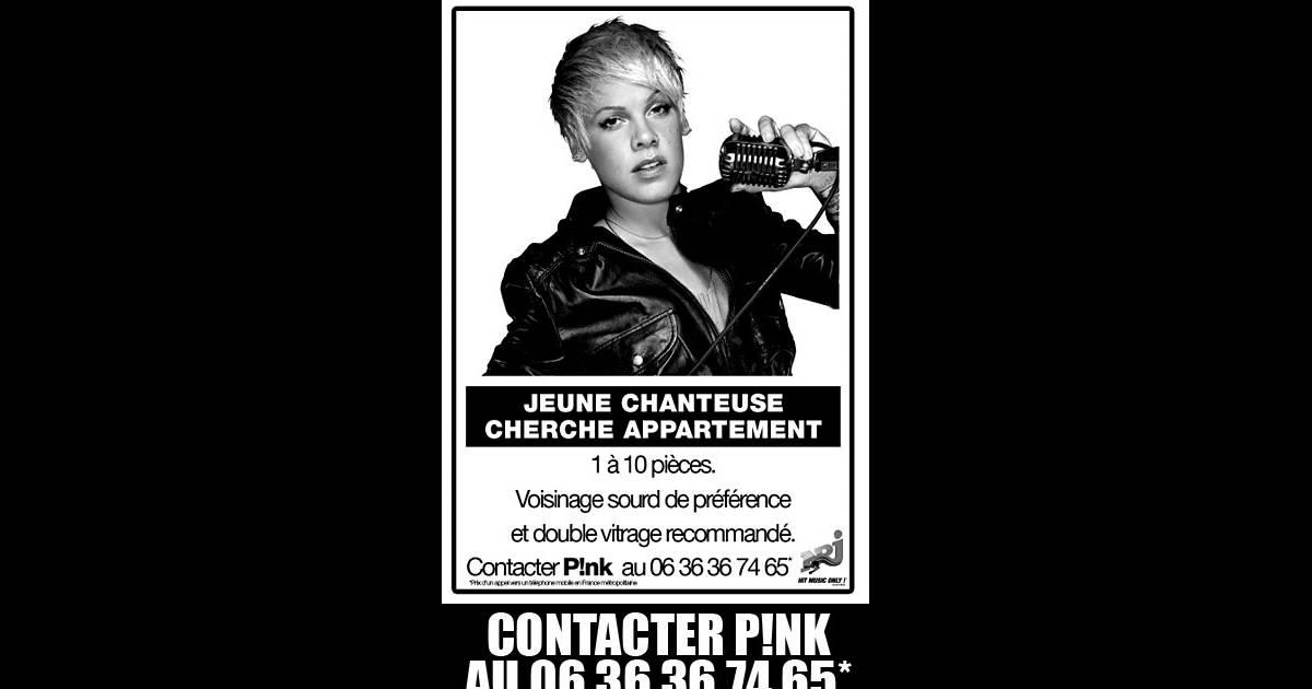 Pink cherche un appartement for Cherche appartement
