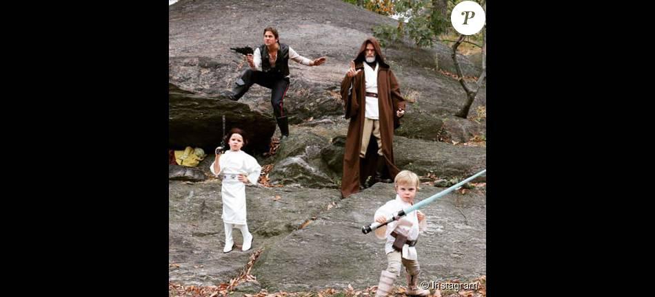 Neil Patrick Harris et sa famille fêtent Hallowee. Instagram, 31 octobre 2015