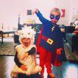 Harper et Gideon, les jumeaux de Neil Patrick Harris et David Burtka. Photo Instagram du 29 octobre 2014.