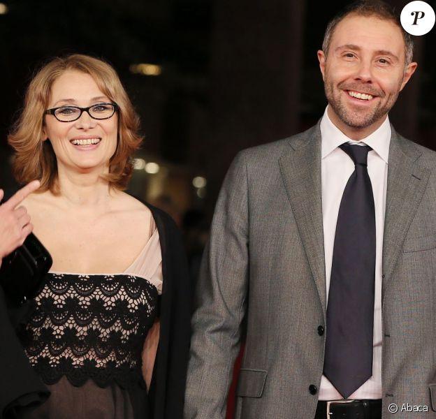 Nicoletta Mantovani et Filippo Vernassa à Rome, le 14 novembre 2012.