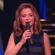 Sandrine Quétier, dans  Danse avec les stars  saison 6, le vendredi 6 novembre 2015.