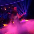 Priscilla Betti et Christophe, dans  Danse avec les stars  saison 6, le vendredi 6 novembre 2015.
