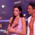 Sophie Vouzelaud et Maxime, dans  Danse avec les stars  saison 6, le vendredi 6 novembre 2015.