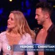 Veronic DiCaire et Christian, dans  Danse avec les stars  saison 6, le vendredi 6 novembre 2015.