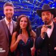 Fabienne Carat et Julien, dans  Danse avec les stars  saison 6, le vendredi 6 novembre 2015.