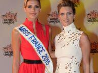 Camille Cerf et Sylvie Tellier, duo chic et glamour, enchantent les NMA 2015