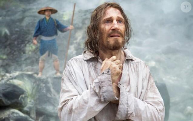 Liam Neeson dans Silence, de Martin Scorsese.