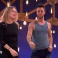 Véronic DiCaire et Christian Millette dans  Danse avec les stars 6 , sur TF1, le 21 novembre 2015.
