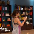 Fabienne Carat et Julien Brugel dans  Danse avec les stars 6 , sur TF1, le 21 novembre 2015.