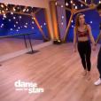 Priscilla Betti et Christophe Licata dans  Danse avec les stars 6 , sur TF1, le 21 novembre 2015.