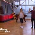 EnjoyPhoenix et Yann-Alrick dans  Danse avec les stars 6 , sur TF1, le 21 novembre 2015.