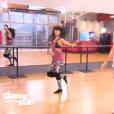 Olivier Dion et Candice Pascal dans  Danse avec les stars 6 , sur TF1, le 21 novembre 2015.