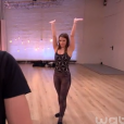 Loïc Nottet et Denitsa Ikonomova dans  Danse avec les stars 6 , sur TF1, le 21 novembre 2015.