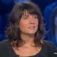L'animatrice Estelle Denis, invitée de  Salut les Terriens  le 14 novembre 2015 (émission déprogrammée suite aux attentats à Paris).
