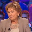 """Marion Game et Danièle Evenou, deux ex-compagnes de Jacques Martin, se font face dans l'émission """"On a tous en nous quelque chose de Jacques Martin"""", sur France 2, le 21 novembre 2015."""