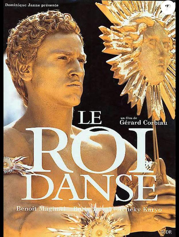 """Benoît Magimel est Louis XIV dans """"Le roi danse"""" en 2000."""
