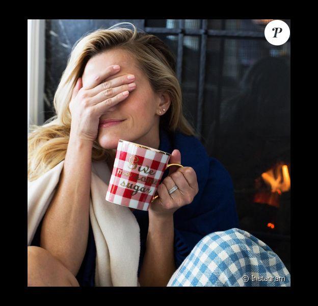 Reese Witherspoon est dans le coma après avoir fêté Thanksgiving / photo postée sur Instagram, le 27 novembre 2015.