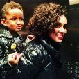 Alicia Keys et son fils / photo postée sur Instagram au mois de novembre 2015.