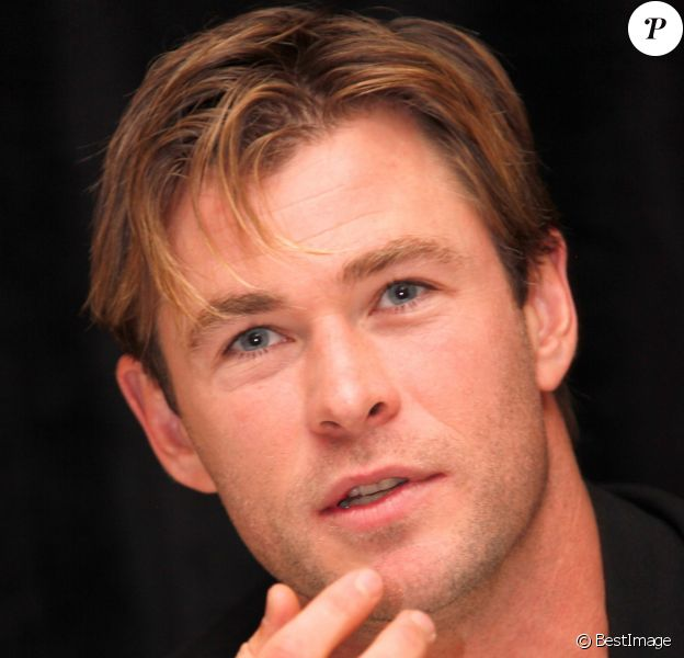 "Chris Hemsworth - Conférence de presse pour le film ""In the heart of the Sea"" à l'hôtel Ritz Carlton à New York le 20 novembre 2015."