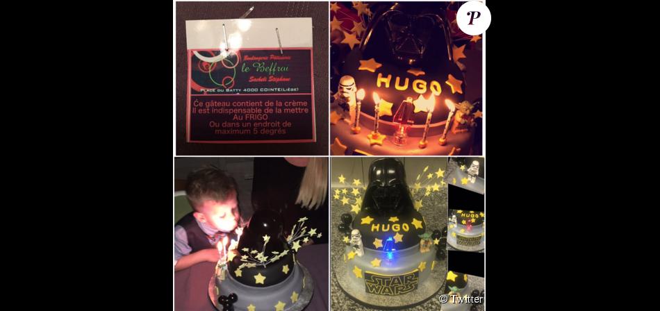 Amélie Neten : son fils Hugo fête ses 4 ans