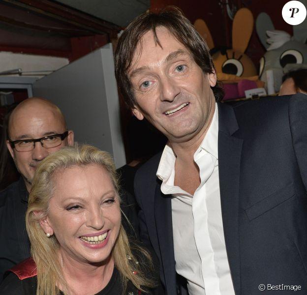 Véronique Sanson et Pierre Palmade - Cérémonie de remise des Grands Prix Sacem 2015 aux Folies Bergère à Paris le 30 novembre 2015. ©Veeren/Bestimage