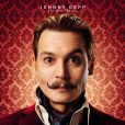 Johnny Depp sur une affiche de Mortdecai.