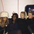 Ashlee Simpson et ses copines en vacances à Aspen / photo postée sur Instagram au mois de décembre 2015.