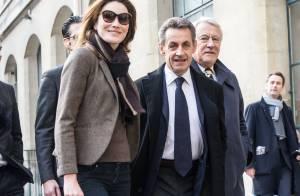 Élections régionales : Nicolas Sarkozy et Carla main dans la main pour voter