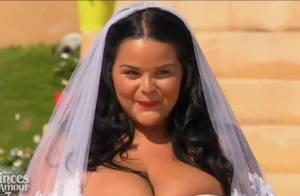Sarah Fraisou : Robe de mariée et décolleté ultra sexy, la bombe veut son prince