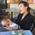 Elisabetta Canalis et sa fille Skyler - Photo publiée le 28 novembre 2015