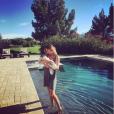 Elisabetta Canalis et sa fille Skyler - Photo publiée le 7 novembre 2015