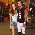 Katherine Webb et son mari Aj McCarron / photo postée sur Instagram au mois de 2015.