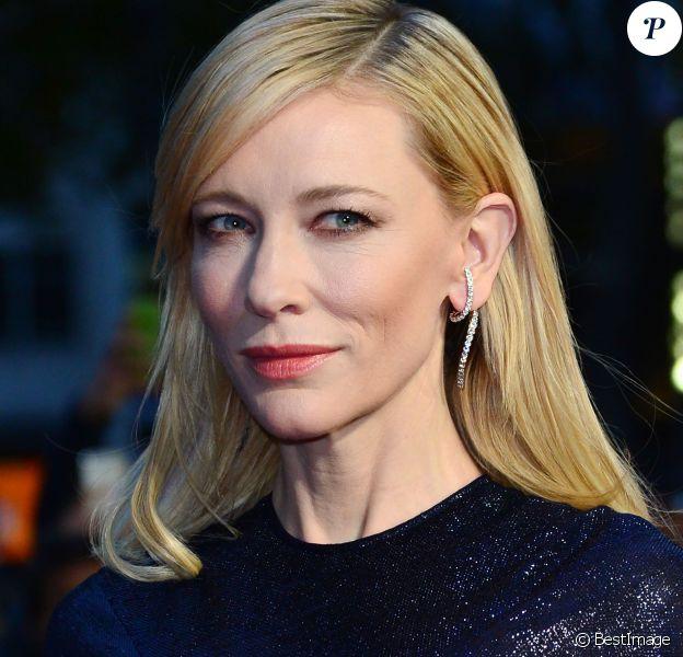 Cate Blanchett - Tapis rouge du film Carol lors du BFI London Film Festival à Londres, le 14 octobre 2015.