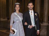 Sofia et Victoria de Suède, enceintes et lumineuses, au dîner pour les Nobel
