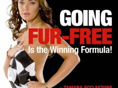 REPORTAGE PHOTOS : Tamara Ecclestone fonce toute nue pour PETA !