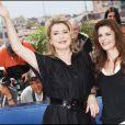 Catherine Deneuve et Chiara Mastroianni en 2007 à Cannes pour la présentation de Persépolis
