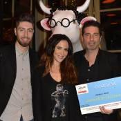 Fabienne Carat : Eliminée, elle retrouve le sourire entourée de vaches colorées