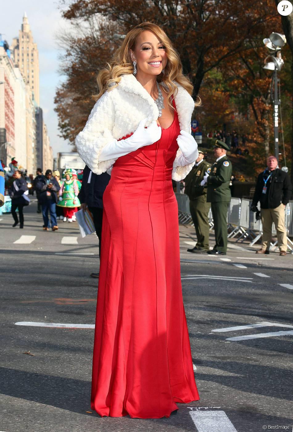 Robe longue rouge 2015